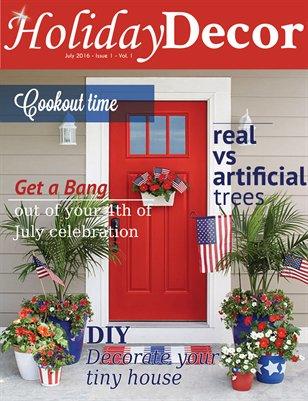 Holiday Decor Magazine - July 2016