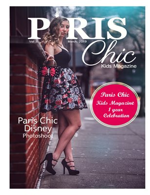 Paris Chic kids magazine March 11