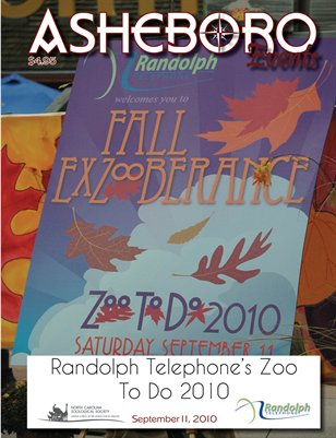 Asheboro Event Magazine Zoo To Do