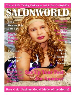 Salon World Magazine May/June, 2014