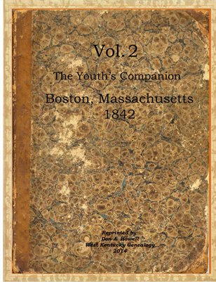 Vol.2 1842 The Youth's Companion, Boston, Massachusetts
