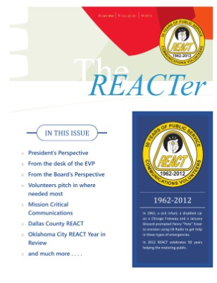 The REACTer / January - March 2012