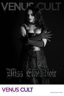 Venus Cult No.36 – Miss Ellie Noir Cover Poster