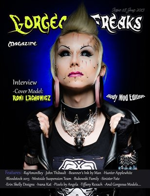 Issue 18 Roni's Cover: Body Mod Edition