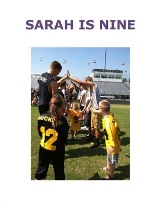 Sarah Is Nine