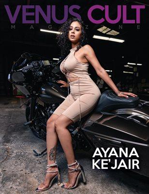 Venus Cult No.47 – Ayana Ke'Jair  Cover