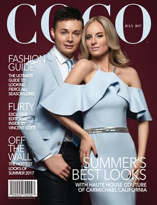 COCO Fashion Magazine Featuring Humberto Garibay