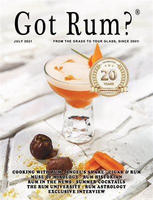 """""""Got Rum?"""" July 2021"""