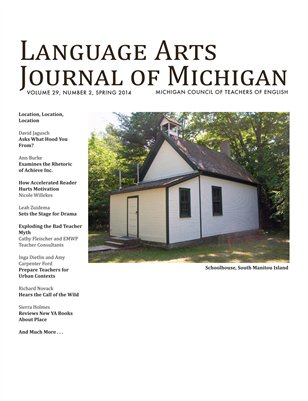 Language Arts Journal of Michigan, 29.2
