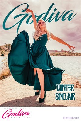 GODIVA No.14 – Winter Sinclair Cover Poster