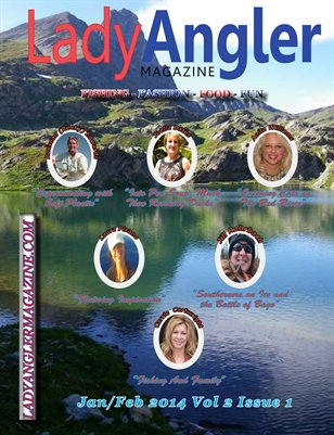 Lady Angler Magazine Jan Feb 2014