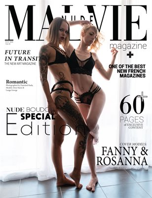 MALVIE Mag - Nude & Boudoir Special Edition Vol. 05 JULY 2020