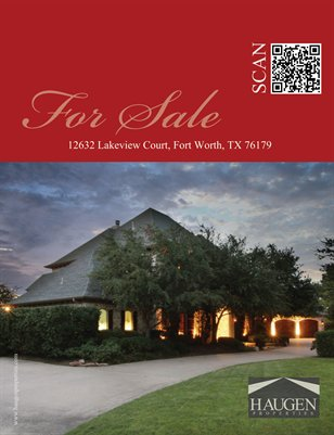 Haugen Properties - 12632 Lakeview Court, Fort Worth, Texas 76179