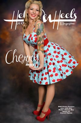 Hell on Heels Magazine Poster Feature July 14th 2017 Cherry May