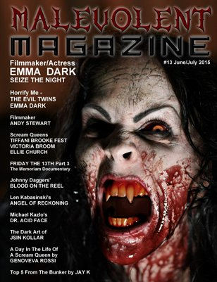 Malevolent Magazine #13 June/July 2015
