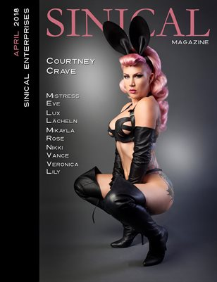 Sinical April 2018 - Courtney Crave cover edition