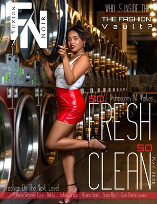Fuzion Noir Mahogoney M. Waites Spring May 2020 Issue 1 Cover 2