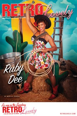 Ruby Dee - Chocolate Cheesecake Cover Poster