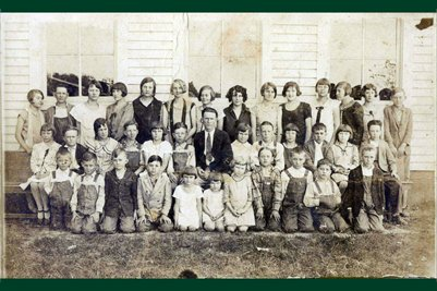 1927/1928 Darnall School, Marshall County, Kentucky