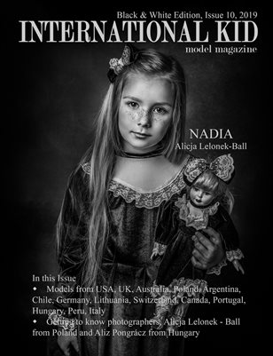 International Kid Model Magazine B&W edition