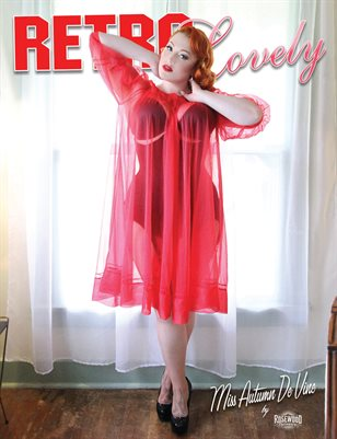Retro Lovely No.34 - Miss Autumn De Vine Cover