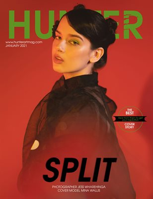 HUNTER Magazine issue January 2021 vol.7