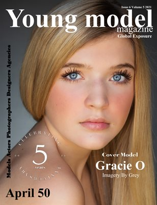 Young Model Magazine Issue 6 Volume 5 2021 April Top 50
