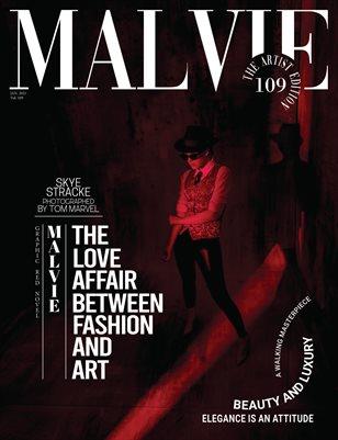 MALVIE Magazine The Artist Edition Vol 109 January 2021