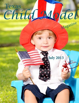 Texas Child Model Magazine July Edition
