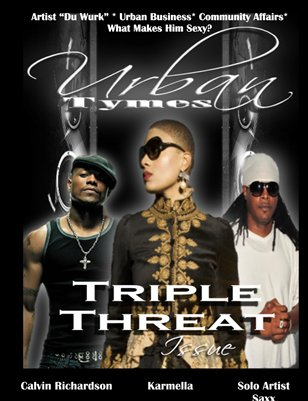 Feb 2012 Issue Triple Threat w Karmella