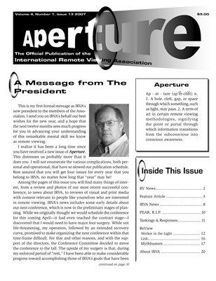 APERTURE, 2007, Issue 13