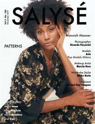 SALYSÉ Magazine   Vol 5 No 105   NOVEMBER 2019  