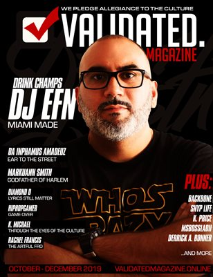 Validated Magazine ft. DJ EFN