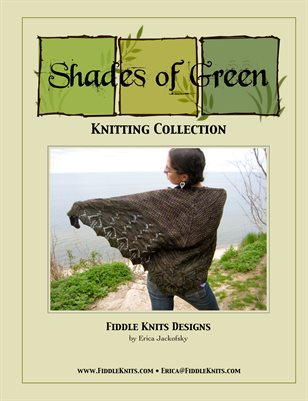 Shades of Green Knitting Collection