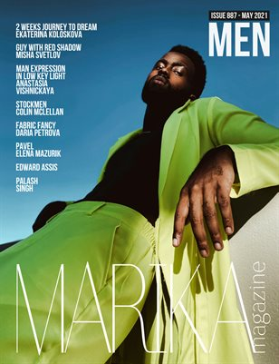MARIKA MAGAZINE MEN (ISSUE 887 - MAY)