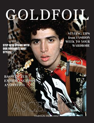 GOLDFOIL MAGAZINE - ISSUE 05 - ASCENSION