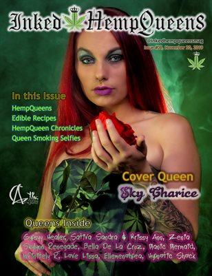 Inked HempQueens Magazine ~ Issue 8 ~ Sky Charice