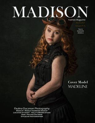 MADISON Fashion Magazine # 15 AUGUST