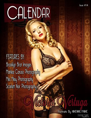 Calendar Calendar Girls - Issue Fourteen - Victoria Vertuga