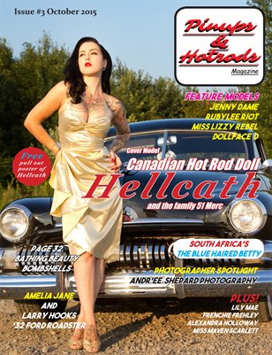 Pinups & Hotrods, Issue#3