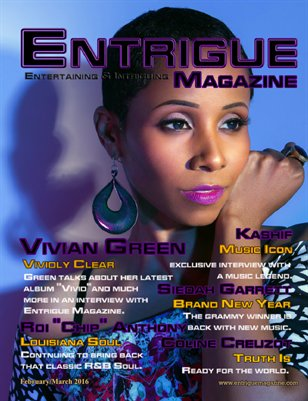 Entrigue Magazine February/March 2016 (Cover1)