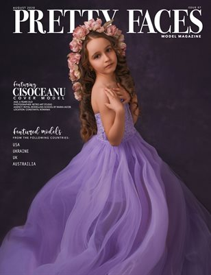 Pretty Faces Model Magazine | August 2020 - Issue 07
