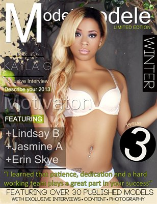 MODEL MODELE MAGAZINE - BLACK WINTER - KAYLA G