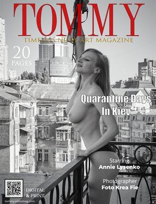 Annie Lysenko - Quarantine Days In Kiev - Foto Krea Fie