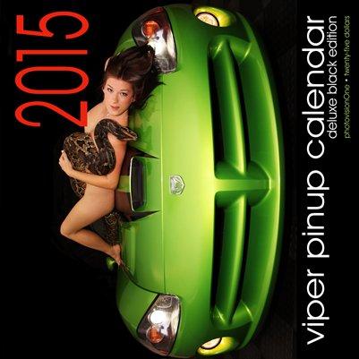 2015 Viper Pinup Calendar - Deluxe Black Edition