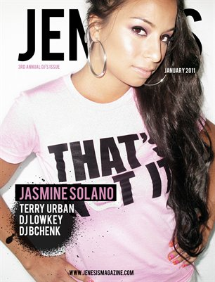 Issue 44: January 3rd Annual DJ Issue feat Jasmine Solano Deux