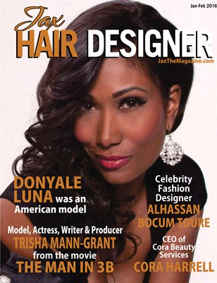 Jax Hair Designer Magazine January/February 2016