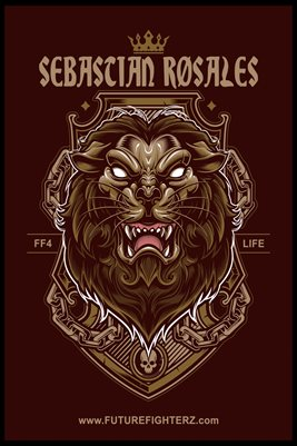 Sebastian Rosales King of the Jungle Poster
