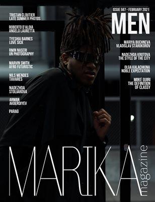 MARIKA MAGAZINE MEN (ISSUE 586 - February)