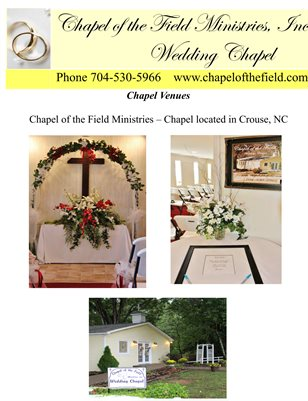 Chapel Wedding Guide 2017 Revised